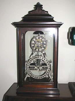 Ithaca Box Skeleton Clock