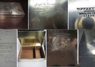 Tiffany Sterling Box